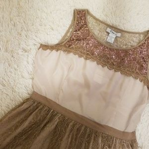 Pinky Dress L light comfortable and breathtaking